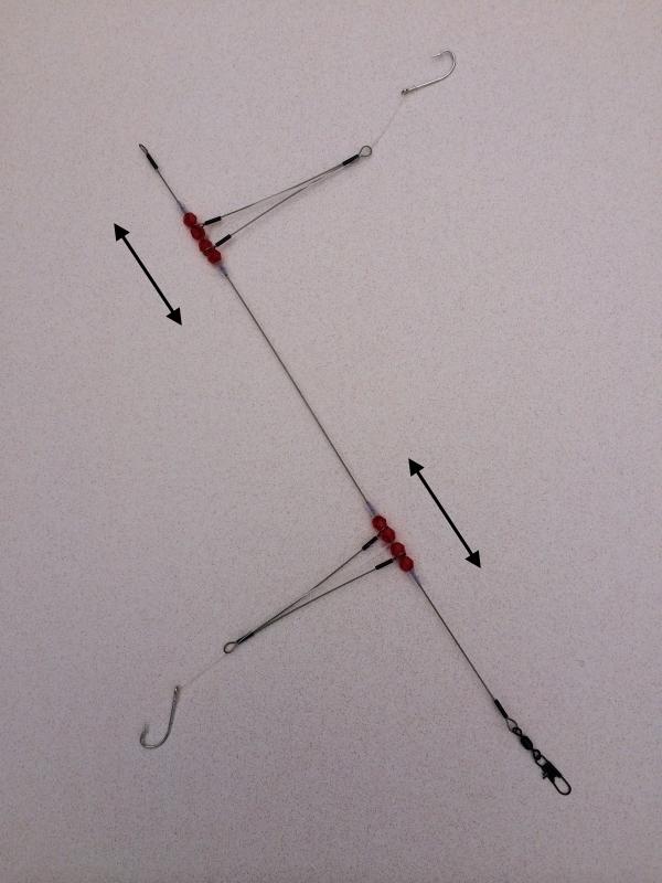 High low bottom fishing rigs 123 fishing rigs usa for Best surf fishing rigs