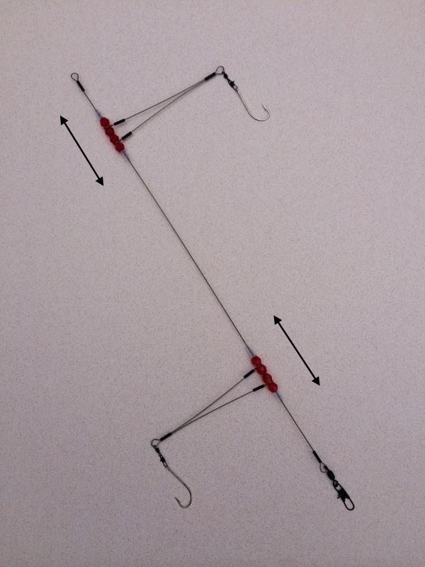 High low bottom fishing rigs 123 fishing rigs usa for Pier fishing rigs