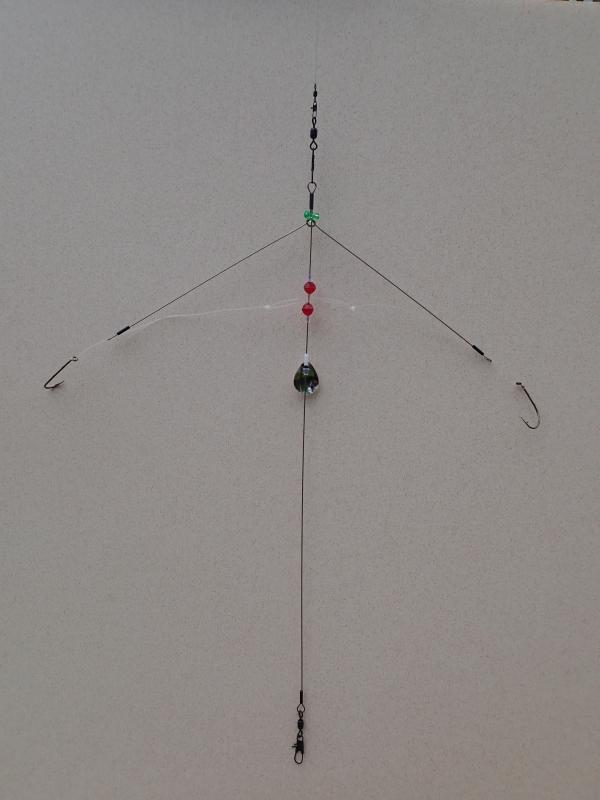 Signature bottom fishing rigs 123 fishing rigs usa for Pier fishing rigs