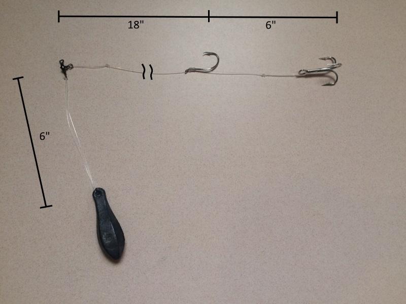 Halibut Fishing Rigs | Trap Bottom Fishing Rig 123 Fishing Rigs Usa
