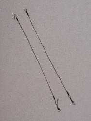 Wire Fishing Leader 15 Inches