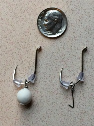Single Bait Carp Fishing Hooks Size 1