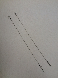 Wire Fishing Leader 12 Inches
