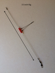 High Low Fishing Rig 15 Inches