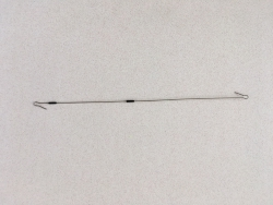 Single wire bait arm for High Low Rig 10 inches