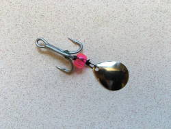 Hard Bait Treble Hook Spinner